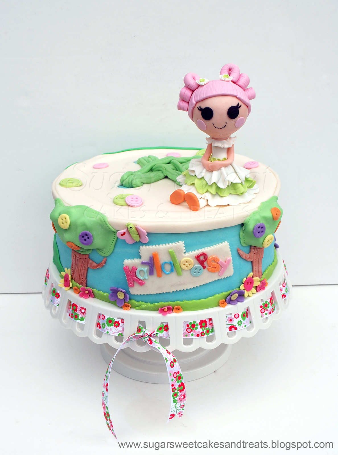 how to make lalaloopsy cake mix