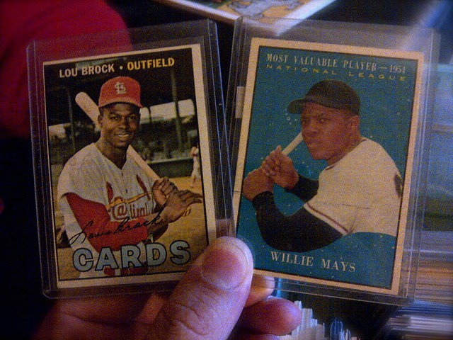 Brock and Mays cards