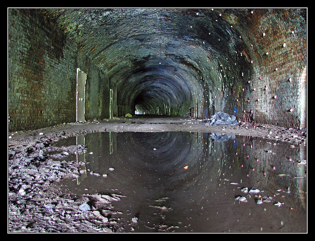 Abandoned Bowshank Tunnel