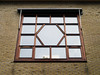 17 windowpanes in one window