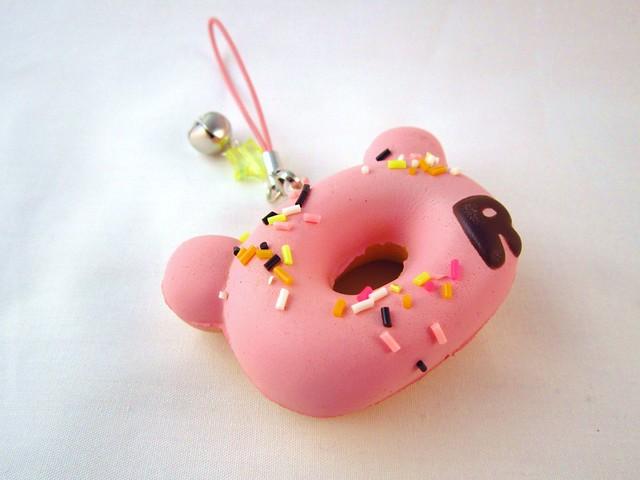 Squishy Collection Blog : Kawaii Pink Rilakkuma Donut Squishy Flickr - Photo Sharing!
