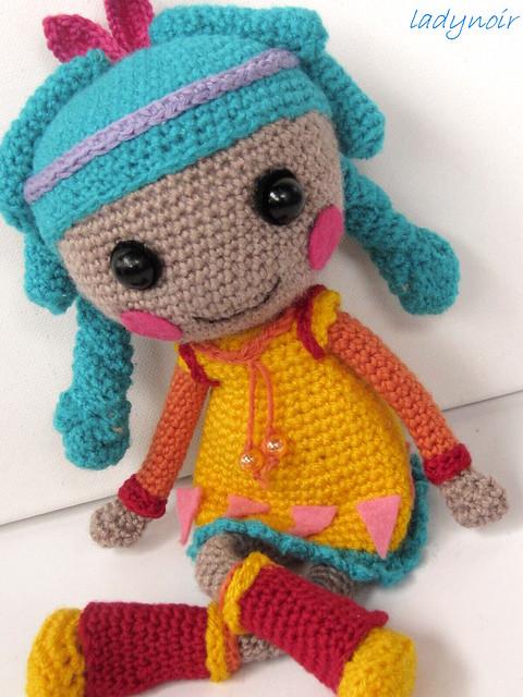 Lalaloopsy Amigurumi Tutorial : Lalaloopsy Feather Tell a Tale crocheted doll Flickr ...