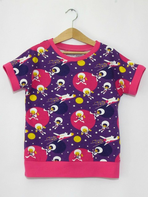 purple astronaut dolman top