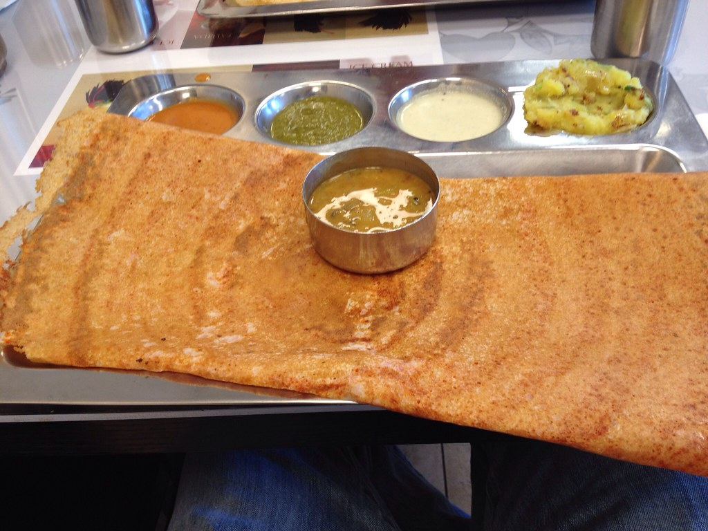 my first dosa