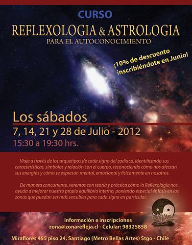 Afiche Reflexología & Astrología