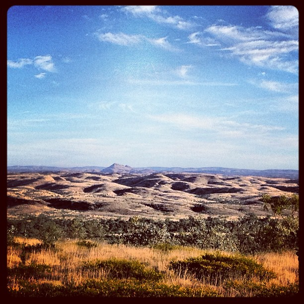 In a big country .... #pilbara #photooftheday #instagramhub #webstagram #pilbara #archaeology