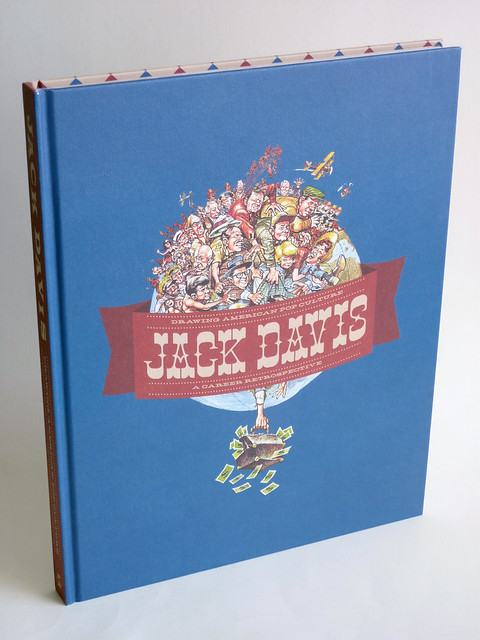 Jack Davis: Drawing American Pop Culture - A Career Retrospective (2nd Printing) - front