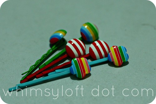 Tutorial :: Easy way to make cute HAIR CLIPS (4)