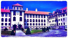 The Elisabethenburg #palace in Meiningen #today.