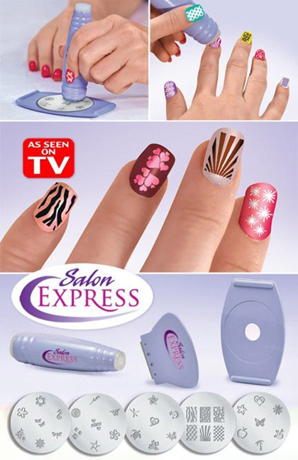 Salon Express Nail Art Stamping Kit Price In Pakistan