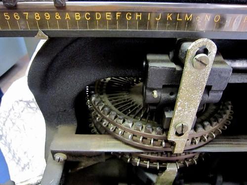 Graphotype Closeup