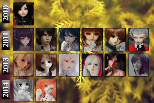 My dolls^^