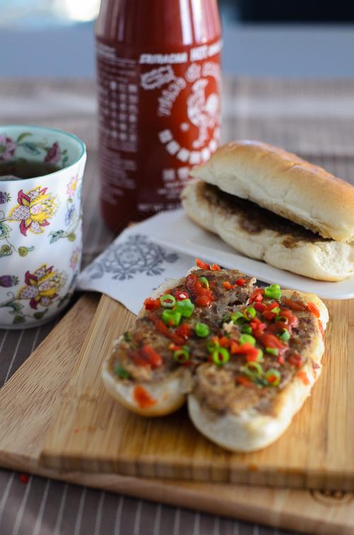 Beef-omelette-open-sandwich