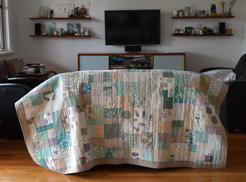 Custom single quilt