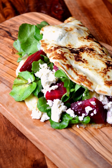 Beetroot and Feta Pancakes Recipe