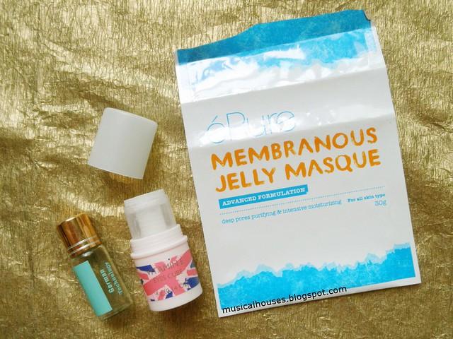 Empties Acne Eye Cream Face Mask The Body Shop Kitoko Kalani EPure