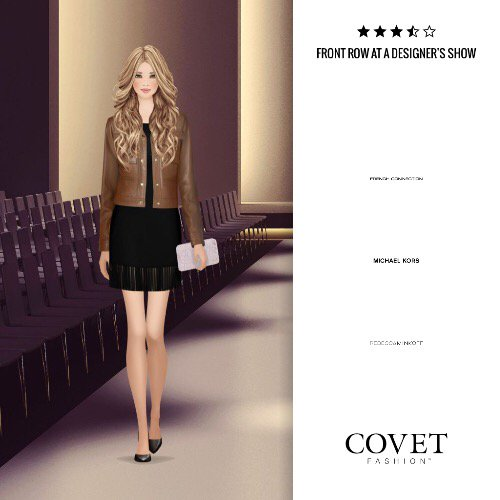 Front Row At A Designer S Show Covetfashion Https T Co Dpflhjcjre Paper Doll Book