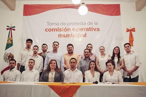 13 Mayo 2016 Toma de protesta comisión operativa municipal Yahualica