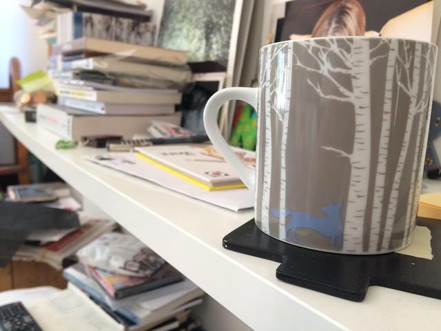 Blue Fox mug
