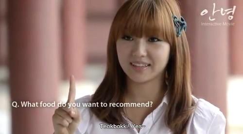 Min likes Ddeokbokki