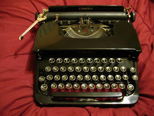Corona Standard typewriter, 1930s