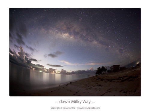 ... Dawn Milky Way ...