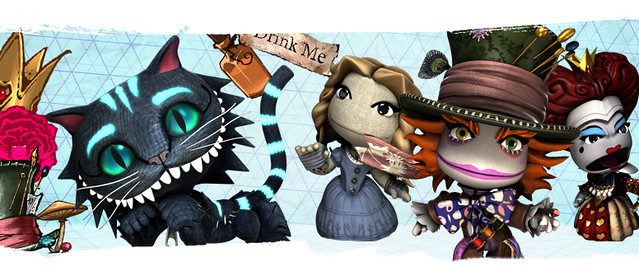 LittleBigPlanet 2: Alice_In_Wonderland-Costume_Pack
