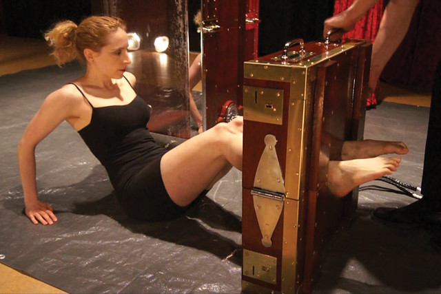 Harry Houdini's Chinese Water Torture Cell