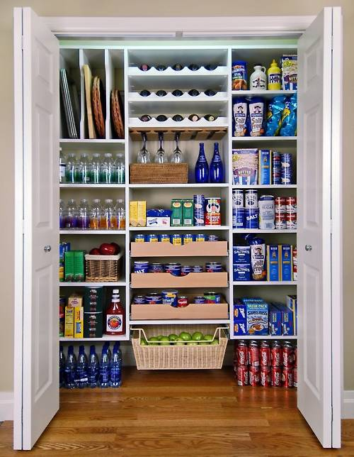 organized pantry photos