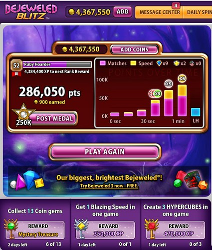 (4) FacebookのBejeweled Blitz