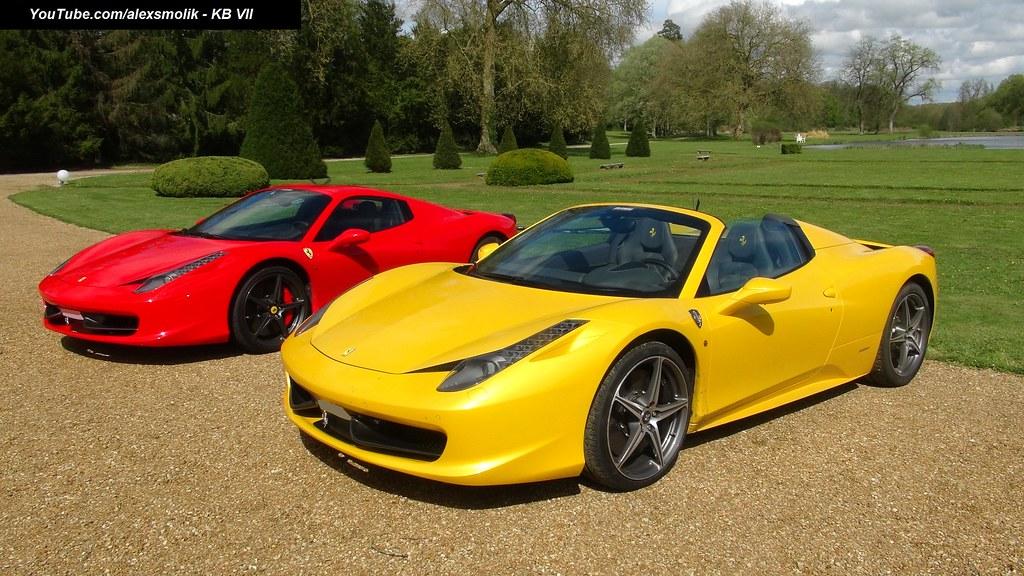 Ferrari 458 italia: June 2012