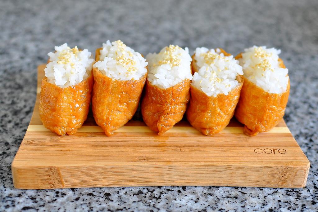 Inari Sushi Recipe Gastronomy