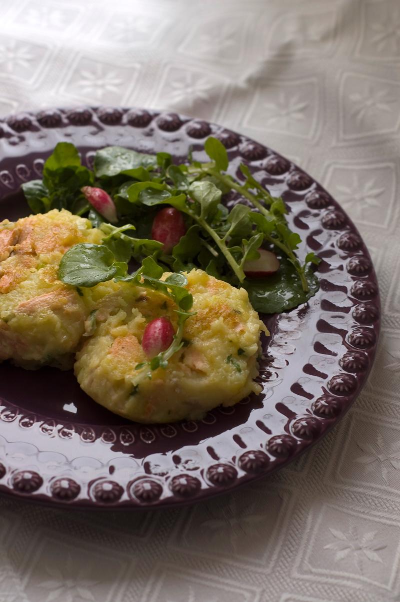 Bolinhos de salmão // Fishcakes