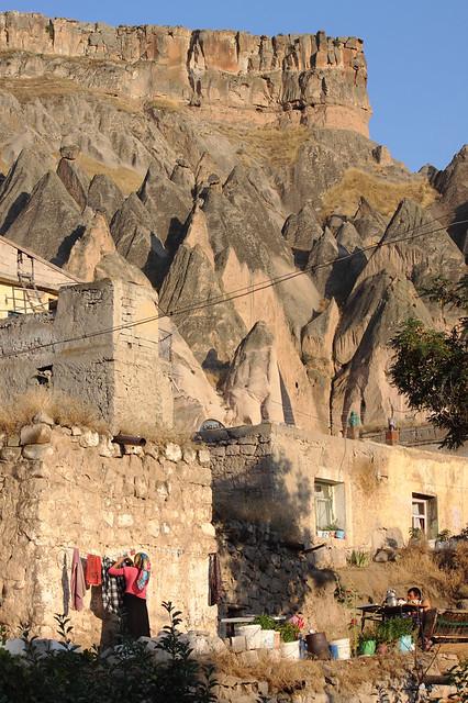 Turchia, Anatolia Centrale, Cappadocia, Valle di Ilhara, Selime