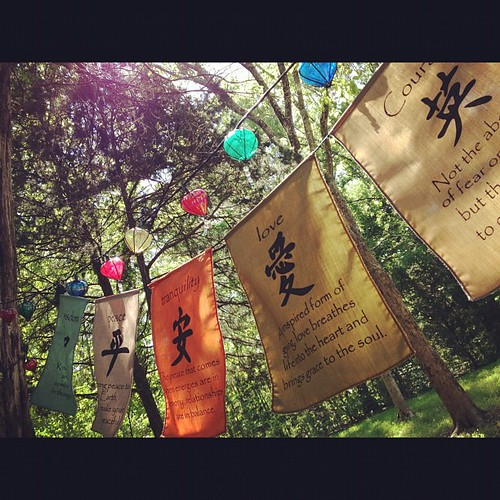 It seems only right to hang our blessings up after being showered with travel blessings <3