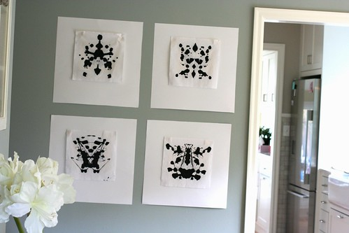 Homemade Ink Blots