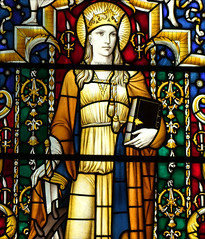St Catherine by Christopher Webb