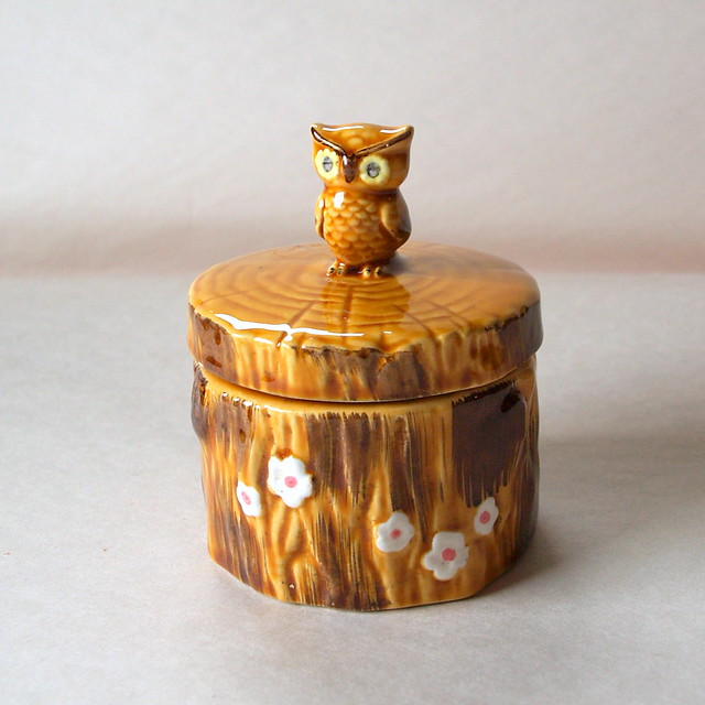Vintage Owl Kitchen Decor: OWLDORABLE VINTAGE OWL // 1970's // Owl // Honey Pot