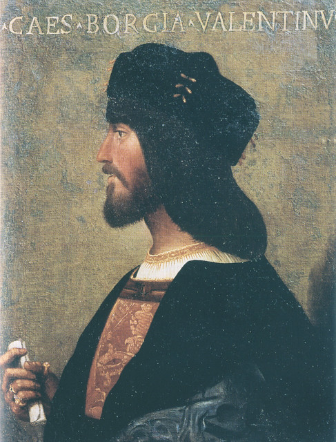 Bartolomeo Veneto - Cesare Borgia, Duke of Valentinois