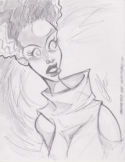 Bride of Frankenstein by Chandra Free