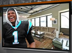 Yeah, Cam Newton's New Crib Is Pretty Sick.