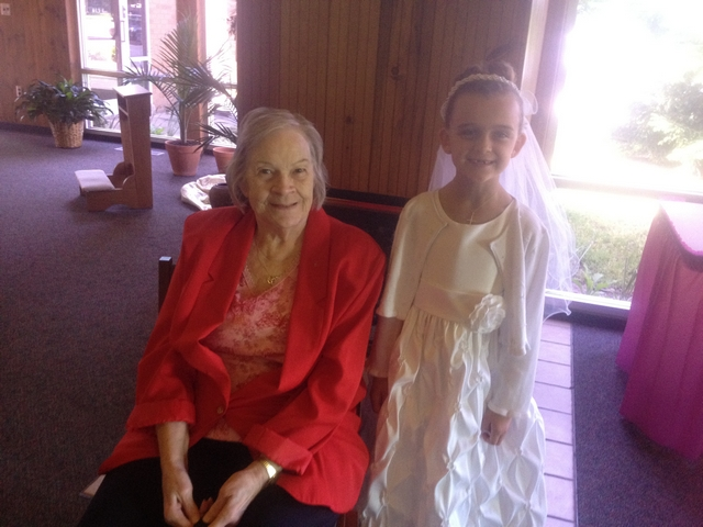 Karli & Great Grandma