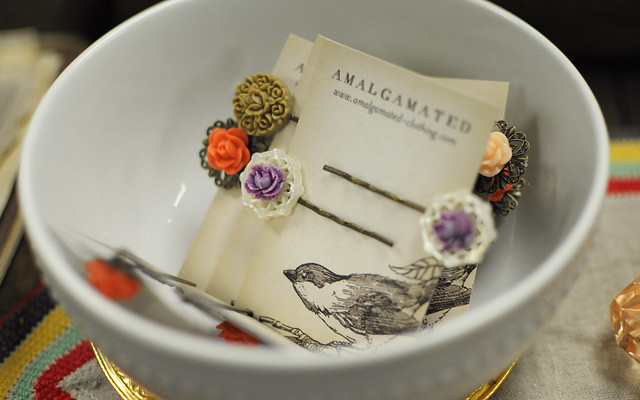 hair pins at amalgamated clothing and dry goods