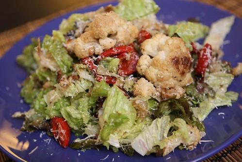 Roasted Cauliflower Salad with Lemon and Parmigiano-Reggiano