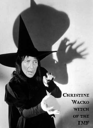 WACKO WITCH OF THE IMF by Colonel Flick