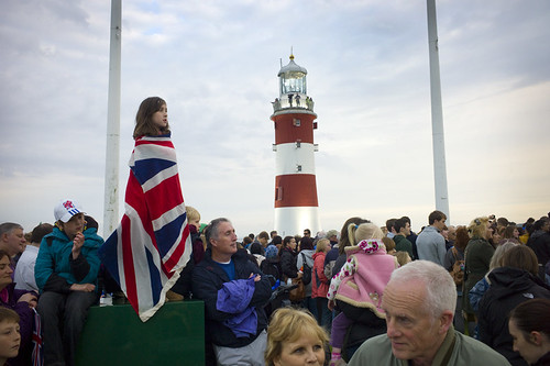 Olympic Torch Relay: Plymouth