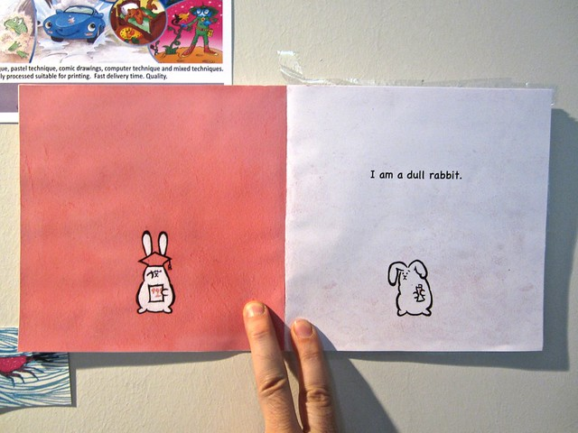 I am a rabbit / Nika Matsumoto (BCBF 2012). 8