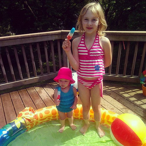 bomb pops in the pool