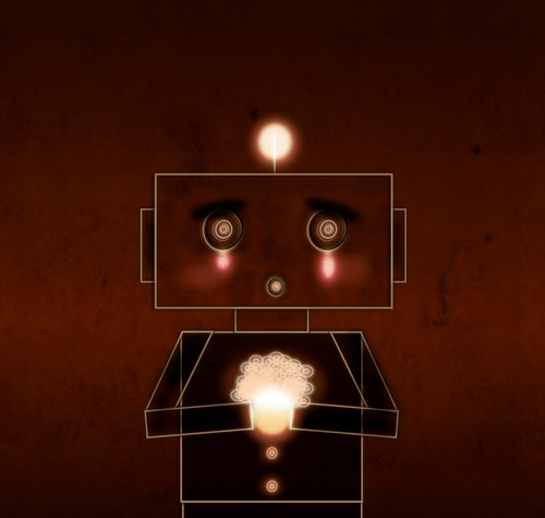 Sad Robot by JuanSe5