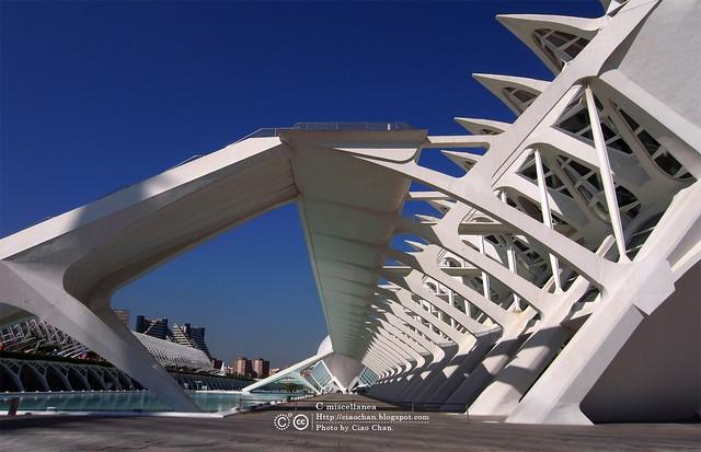 Hola Valencia~瓦倫西亞。藝術科學城 Ciudad de las Artes y las Ciencias     R1043400